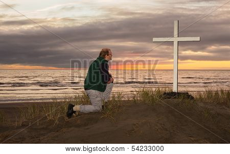 Man At Cross