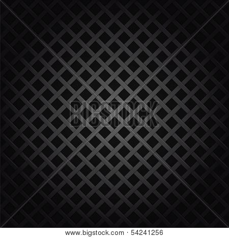 Metal grille seamless background