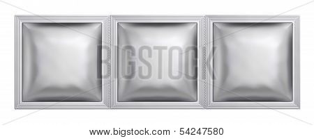 Silver Sachet Bag Package