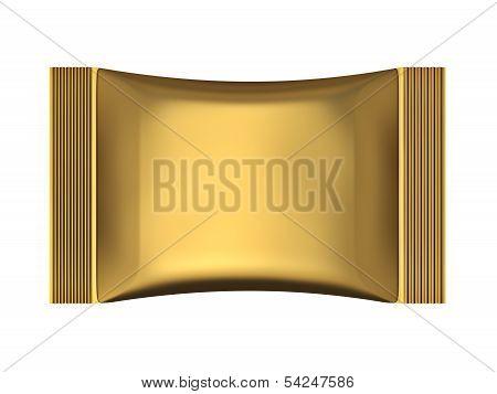 Golden Sachet Bag Package