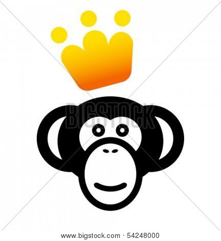 VIP monkey icon