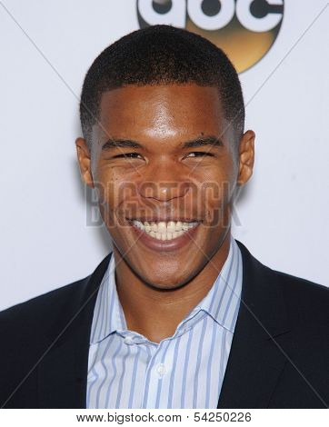 LOS ANGELES - SEP 28:  Gaius Charles arrives to