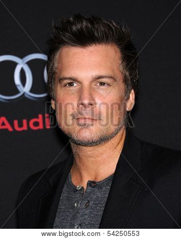 LOS ANGELES - OCT 28:  Len Wiseman arrives to