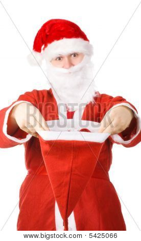 Santa Claus Stretching Hat