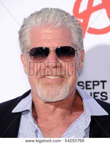 LOS ANGELES - SEP 07:  Ron Perlman arrives to