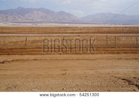 Israeli-Jordanian border near Eilat