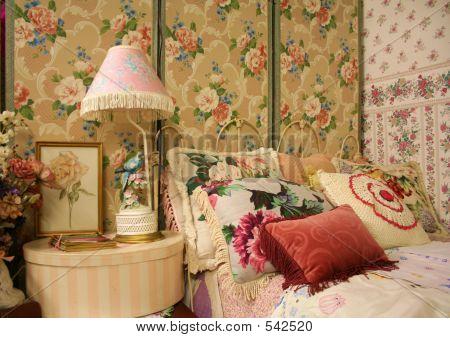 Vintage Bedroom Stock Photo Stock Images Bigstock