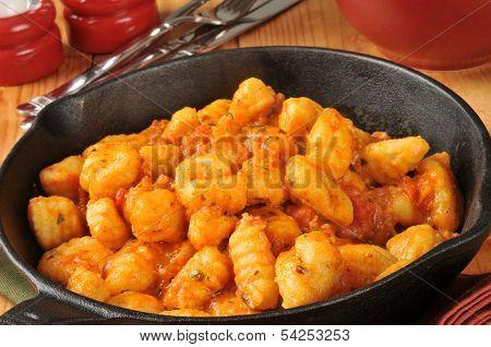 Gnocchi With Pomodoro Sauce