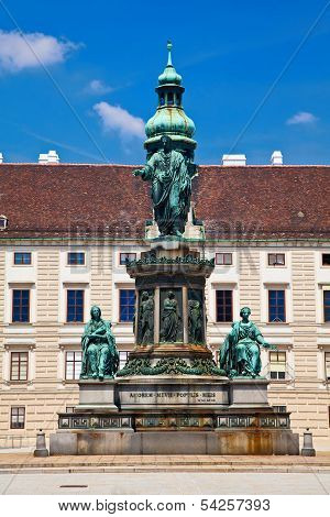 monument To Emperor Franz Joseph I In Vienna