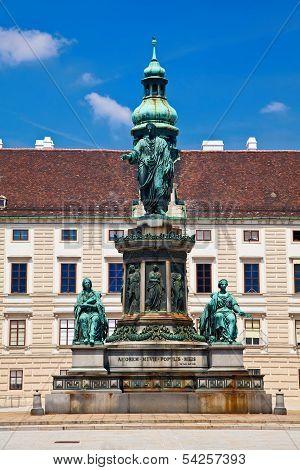 monument To Emperor Franz Joseph I In Vienna