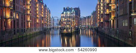 Speicherstadt Hamburg.