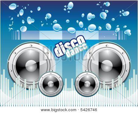 Fondo de música disco