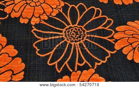 Floral texture background textile