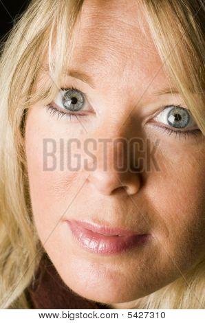 Sexy Woman Blond Hair
