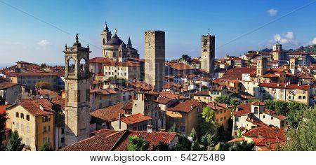 Bergamo, medieval town of northen Italy