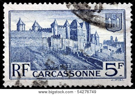 Carcassonne Stamp
