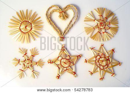 Wicker Decoration Elements
