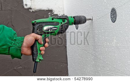 Drill Wall