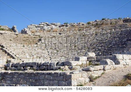 The Theater Of Segesta In Sicily