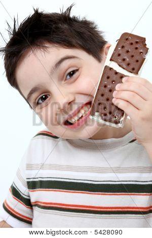 Ice Cream Sandwich Boy