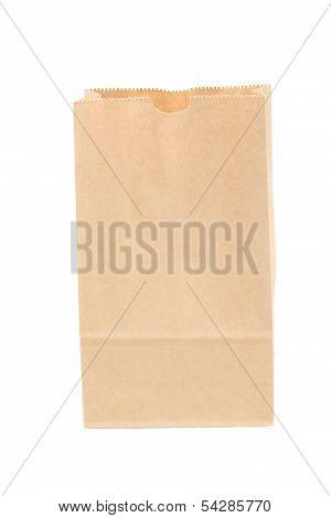 open paper bag