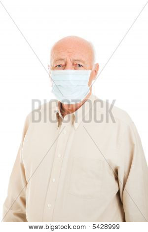 Senior Man - Flu Protection