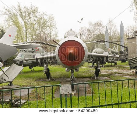 Vintage Russian Fighter airplane