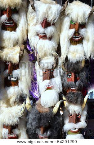 mummers masks