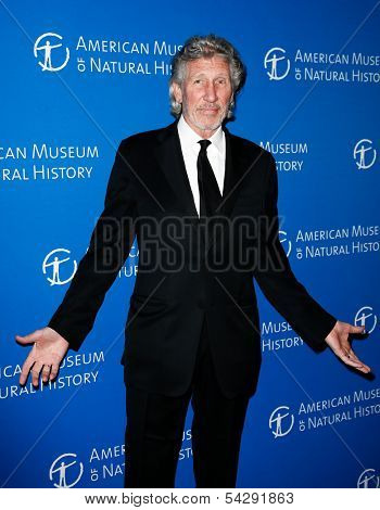 NEW YORK-NOV 21; Musician Roger Waters attends the American Museum of Natural History's 2013 Museum Gala at American Museum of Natural History on November 21, 2013 in New York City.
