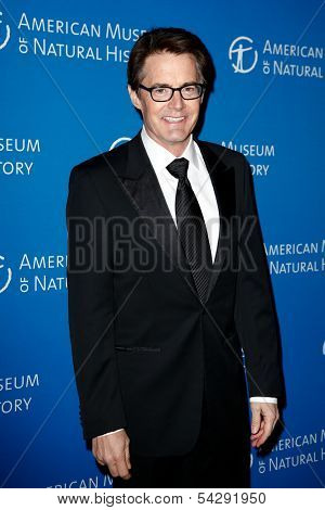 NEW YORK-NOV 21; Actor Kyle MacLachlan attends the American Museum of Natural History's 2013 Museum Gala at American Museum of Natural History on November 21, 2013 in New York City.