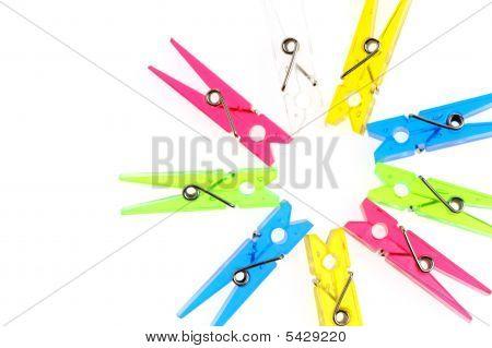 Color A Clothespin