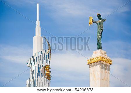 Medea statue in Batumi, Georgia