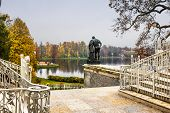 stock photo of tsarskoe  - The Palace Ensemble Tsarskoe Selo - JPG