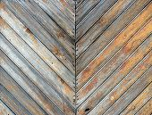 stock photo of wainscoting  - old wooden texture great as a background - JPG