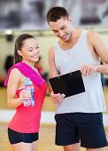 stock photo of clipboard  - fitness - JPG