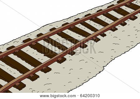 Rusted Train Tracks