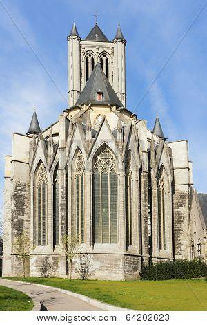 St. Nicolas (niklaas) Church In Ghent.