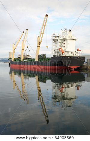 Ogden Point Terminal Cargo Vessel, Victoria