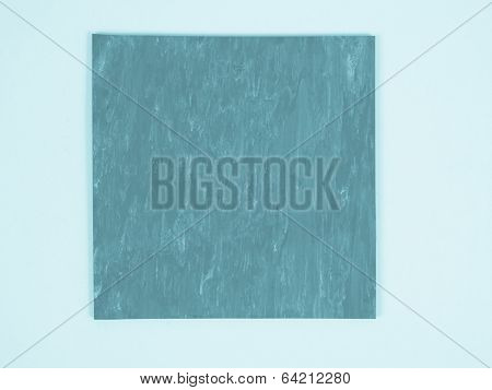 Green Rubber Linoleum Sample