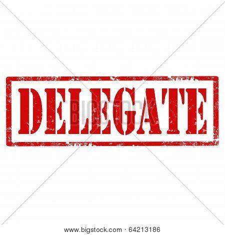 Delegate-stamp