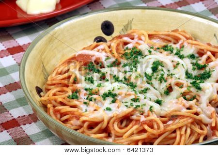 Exquisite  Pasta With  Fresh Tomatoes Sauce