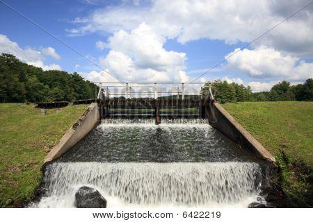Lake Water Dam
