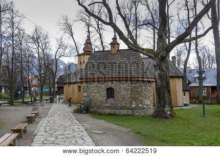 Chapel Gasienicow In Zakopane