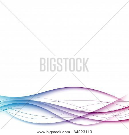 Abstract Modern Certificate Background With Lines