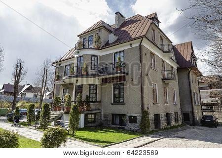 Villa Roztoka In Zakopane