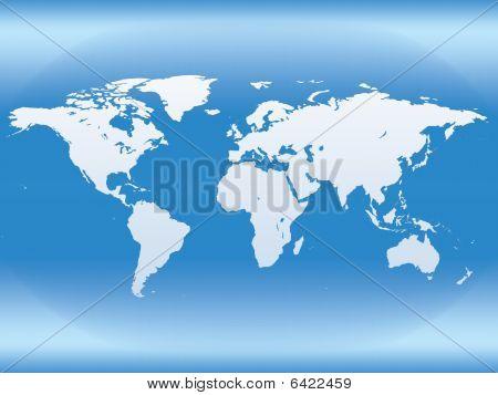 Map. Earth Globe.