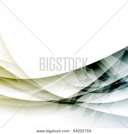 Abstract Technology Modernistic Wave