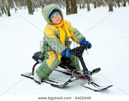 Boy With A Sledge