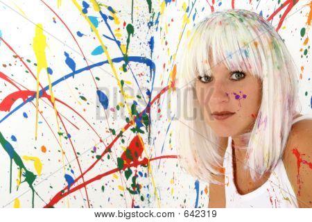 Paint Woman