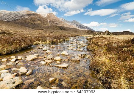 Mountain Stream From Beinn Eighe
